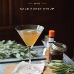 Southside Manhattan, a SCLT Cocktail Recipe with Sage Honey Syrup