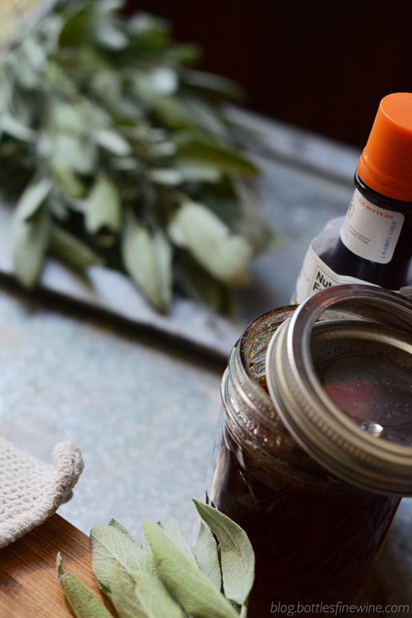 How to make a sage honey syrup