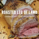 Roasted Leg of Lamb with Chateau Magneau Rouge