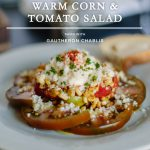 A Summer Corn and Tomato Pairing