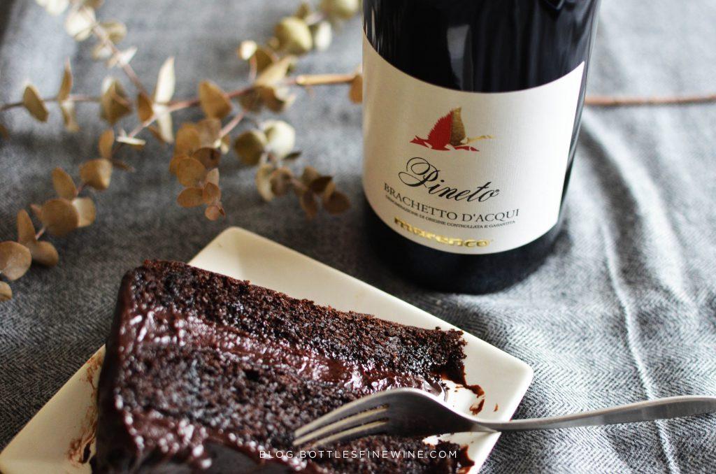 chocolatecake_wine